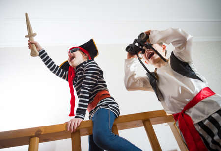 Photo for children play pirates - Royalty Free Image