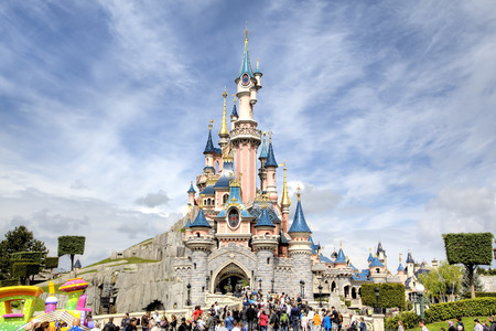 Photo pour Disneyland Park  Paris, France - image libre de droit