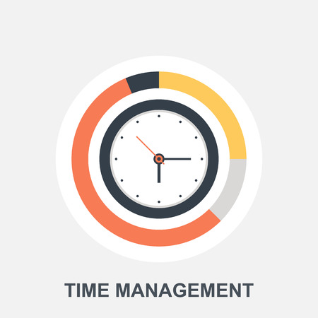 Illustration pour Time Management - image libre de droit