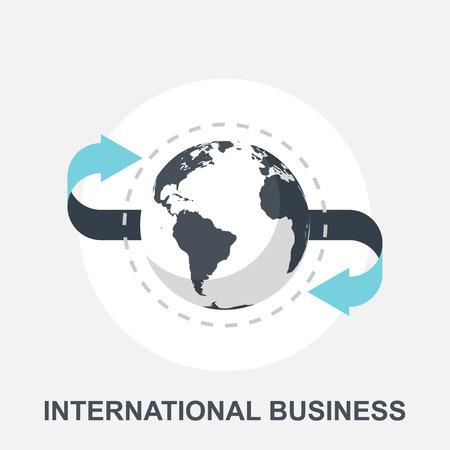 Illustration pour International Business - image libre de droit