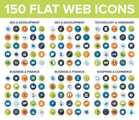 Illustration for Web Icons - Royalty Free Image
