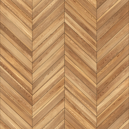 Photo for Seamless wood parquet texture chevron light brown - Royalty Free Image