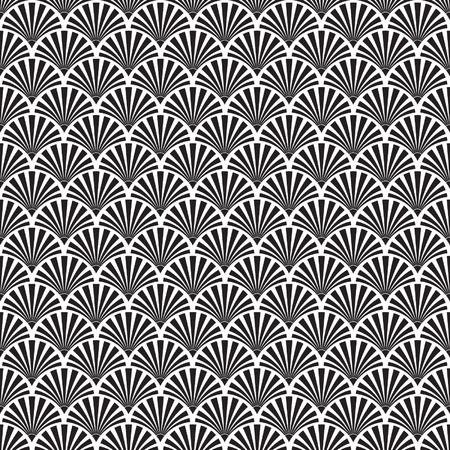 Illustration for Seamless Art Deco Texture - Royalty Free Image