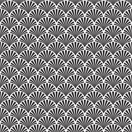 Ilustración de Seamless Art Deco Texture - Imagen libre de derechos