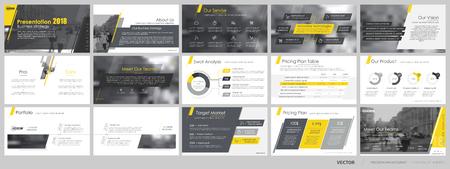 Ilustración de Elements for and presentation templates. - Imagen libre de derechos