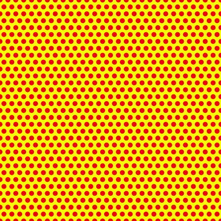Ilustración de Dotted, Pop Art Background, Pop Art Pattern. Symbolic Background of Art of 1960s. - Imagen libre de derechos