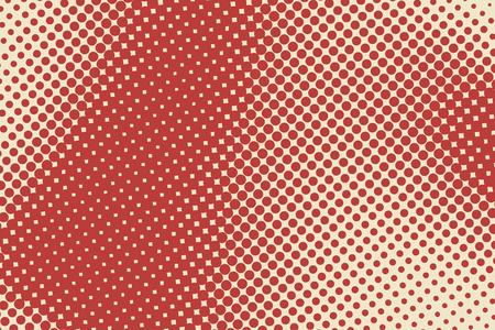 Ilustración de Abstract background with halftone color stains. Vector illustration - Imagen libre de derechos