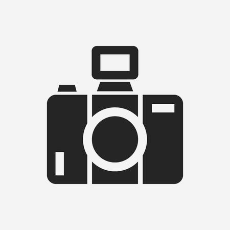 Ilustración de camera icon - Imagen libre de derechos