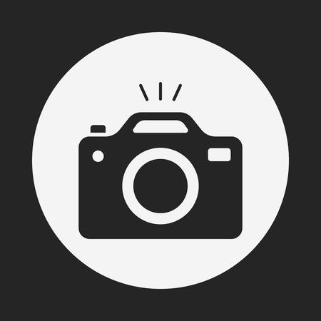 Illustration pour camera icon - image libre de droit