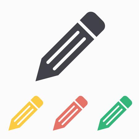 Illustration pour Pencil icon, vector illustration. - image libre de droit