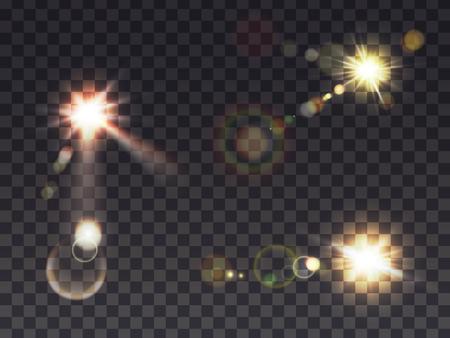 Ilustración de Solar flashes icon. - Imagen libre de derechos