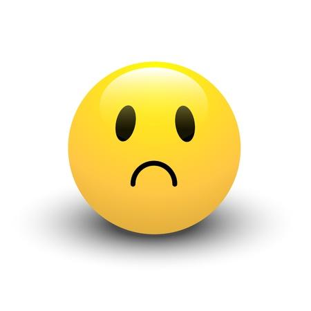 Sad Smiley Vector
