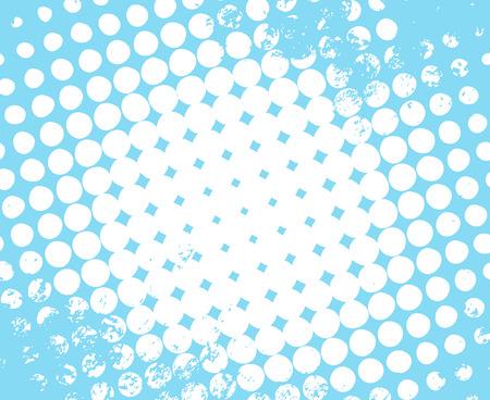 Illustration pour Halftone Grunge Background - image libre de droit