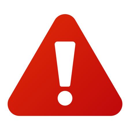 Ilustración de Attention icon danger button and attention warning sign. Attention security alarm symbol. Danger warning attention sign with symbol information and notification icon vector - Imagen libre de derechos