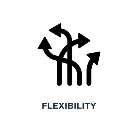 Ilustración de flexibility icon. flexibility concept symbol design, vector illustration - Imagen libre de derechos