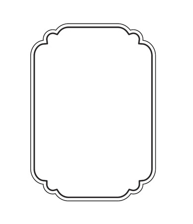 Illustration for picture frame - Royalty Free Image