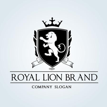 Ilustración de Luxury Vintage logo - Imagen libre de derechos