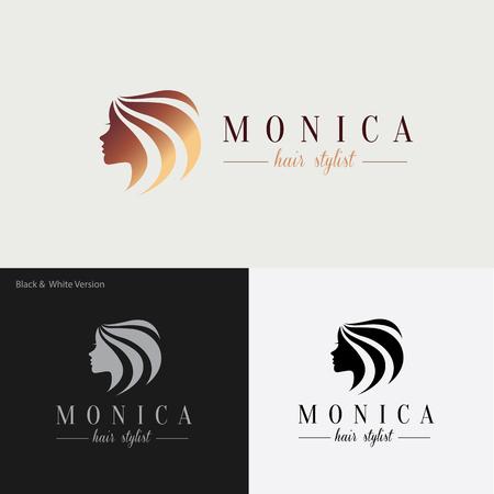 Illustration pour Beauty logo,tree logo,Feminine Logo,vector logo template - image libre de droit