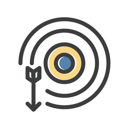 target Icon design illustration