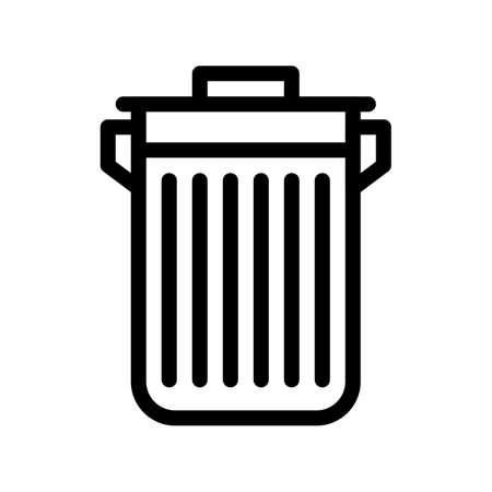trash Icon design illustration