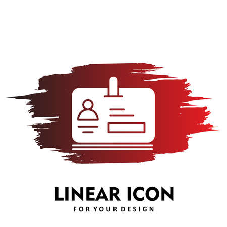 office card Icon design illustration