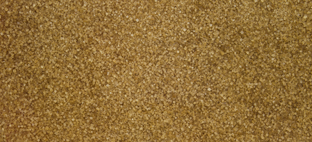 Photo for Brown raw sugar texture banner background - Royalty Free Image