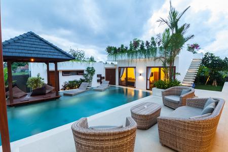 Foto de Tropical villa - Imagen libre de derechos
