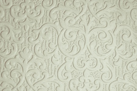 Photo for patterned white Wallpaper - Royalty Free Image