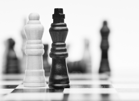 Application of chess strategy and tactics into business field concept