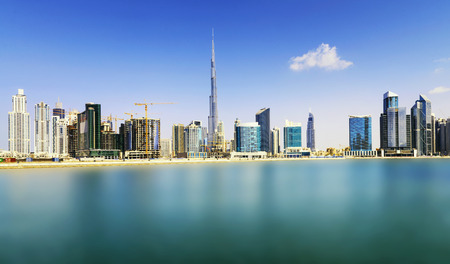 Foto de Dubai skyline, United Arab Emirates - Imagen libre de derechos
