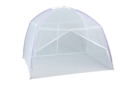 Foto de Mosquito net for protect you from mosquito or insect - Imagen libre de derechos