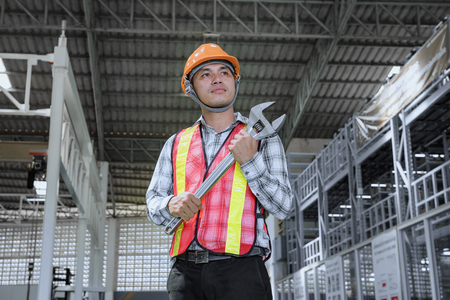 Photo pour Work Safety Concept - regulations and standard in industry, business. - image libre de droit