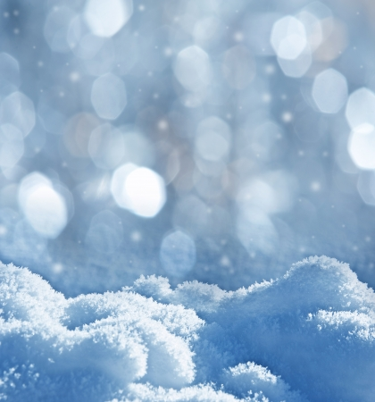 Foto de snow - textured background with empty space for text - Imagen libre de derechos
