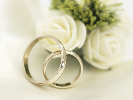Foto per wedding arrangement - Immagine Royalty Free