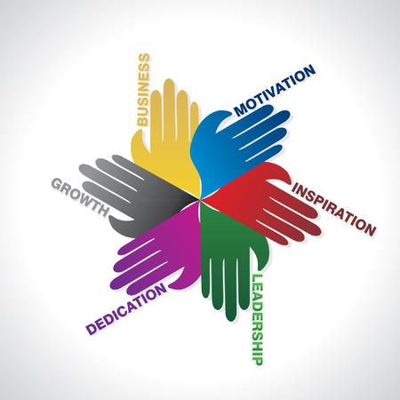 Illustration pour business team work idea concept - image libre de droit