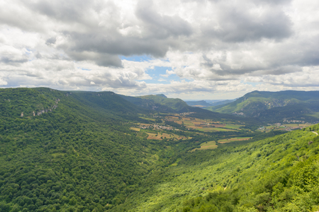 Photo for Natural park of Urbasa and andia in Navarra - Royalty Free Image