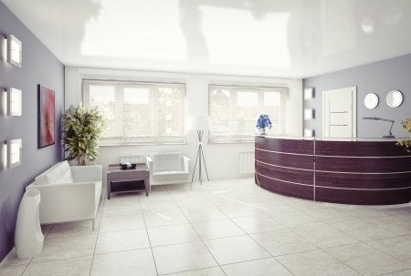 Photo for A reception area -modern interior - Royalty Free Image