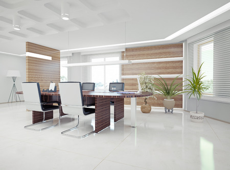 Photo for modern office interior  design concept  - Royalty Free Image