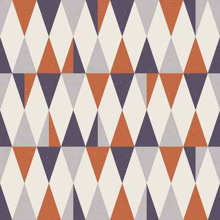 Illustration pour Seamless geometric pattern. Abstract wallpaper. Vector background. - image libre de droit
