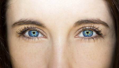 Photo for insightful look blue eyes - Royalty Free Image