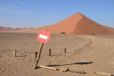 Photo for Dunes in Namib desert, Namibia, Africa - Royalty Free Image