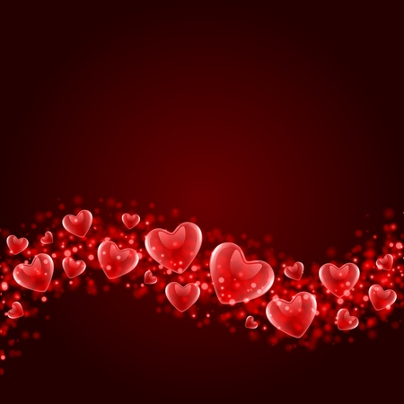 Valentines day or Wedding vector background