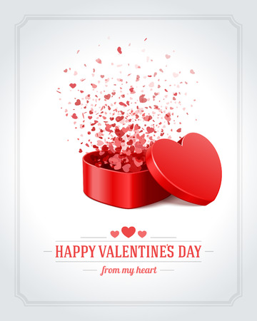 Illustration pour Happy Valentines day vector background - image libre de droit