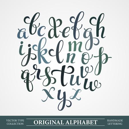Illustration for The original alphabet - Royalty Free Image