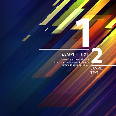 Ilustración de Abstract bright background with diagonal lines. Vector illustration - Imagen libre de derechos