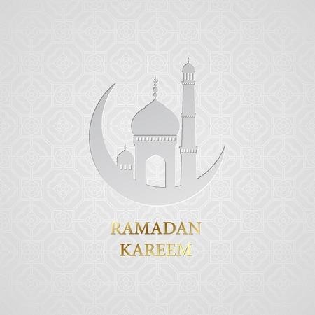 Illustration for Ramadan greetings background. Ramadan Kareem.  - Royalty Free Image