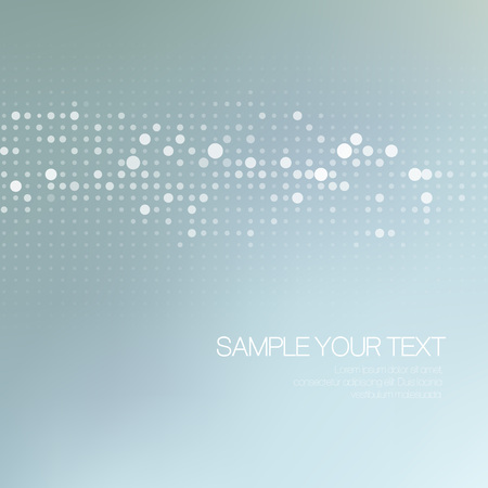 Foto für Modernistic abstract dot tech background. Vector illustration EPS 10 - Lizenzfreies Bild