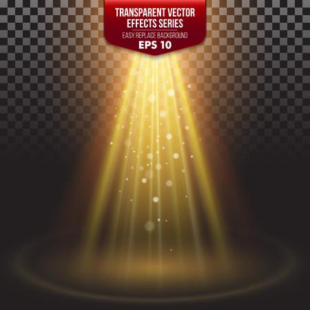 Ilustración de Transparent Effects Series. Easy replacement of the background - Imagen libre de derechos