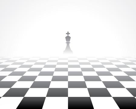 Illustration pour chess board. abstract background - image libre de droit