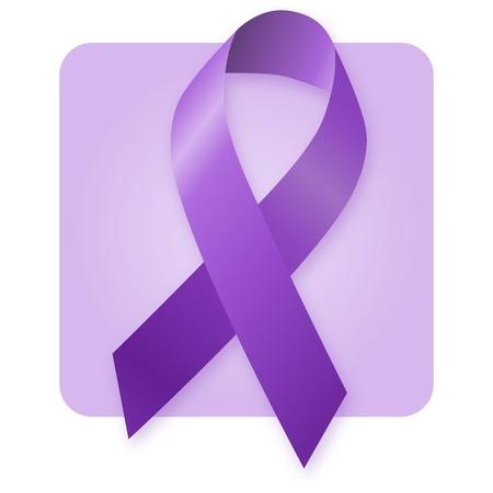 Awareness Ribbon - Purple